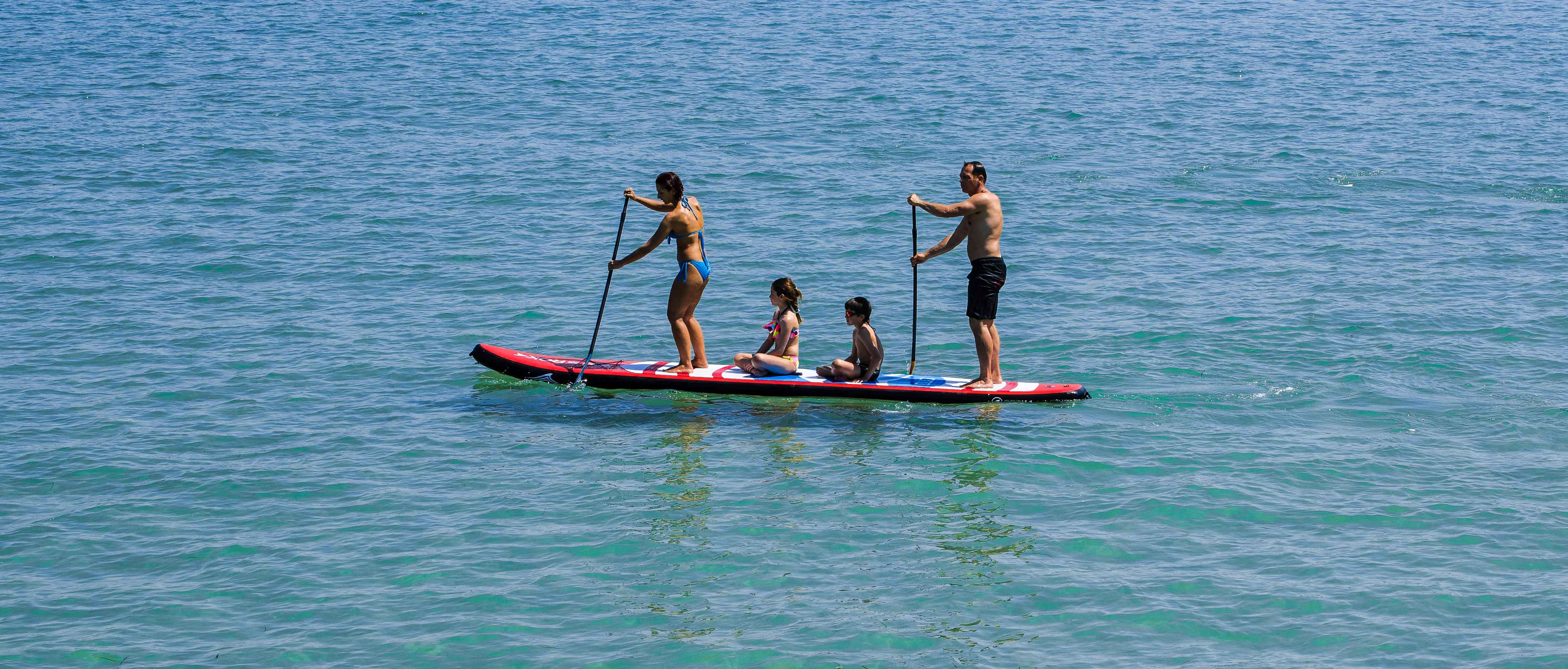 Stand Up Paddle Tandem Duo Windsup Sroka Company