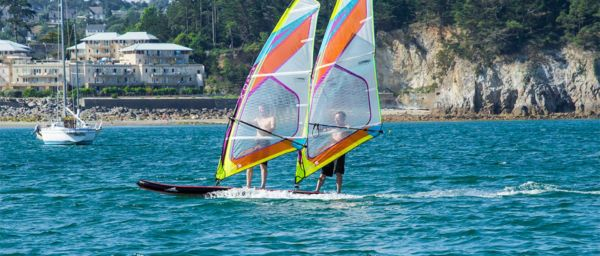 Tandem-Windsurfen