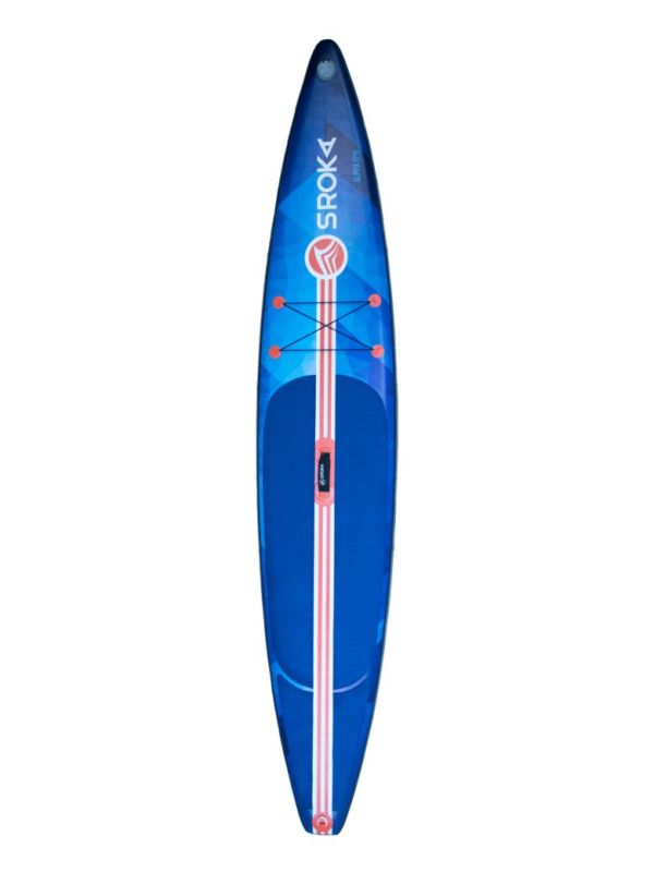 Paddle gonflable alpha 12'6 Front