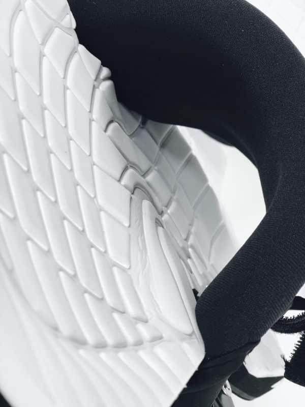 Confort du pied sur le pads Sroka pour kitesurf