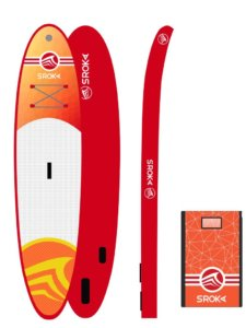 malibu 10'6 orange paddle