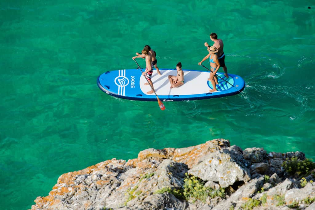 Inflatable geant SUP board XL
