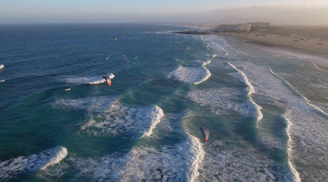 fag beach vue de drone