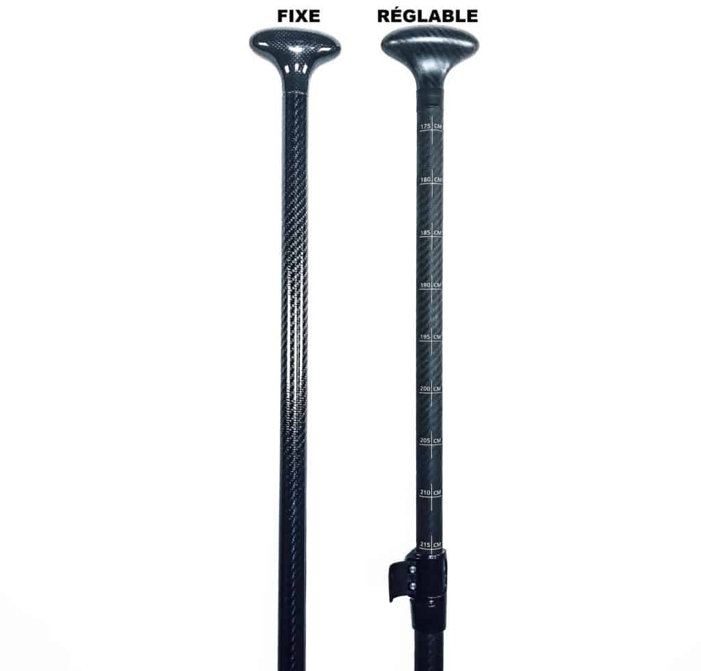 fix and ajustable paddle