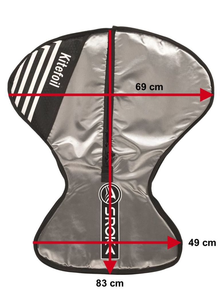 assembled kite foil protection bag 2019