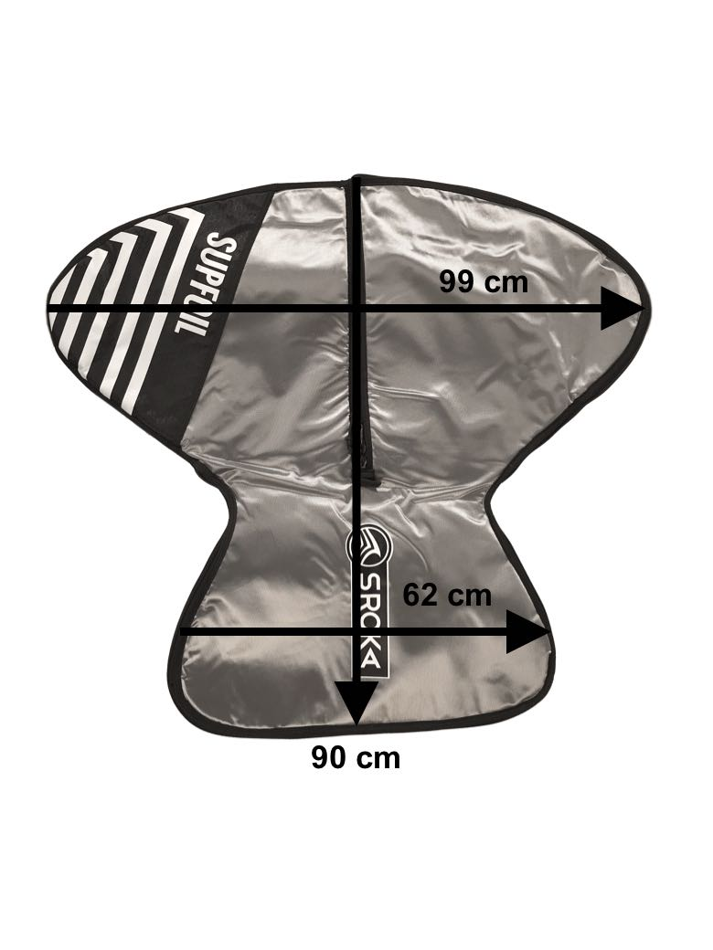 Protection bag for Surf Foil and SUP Foil assembled