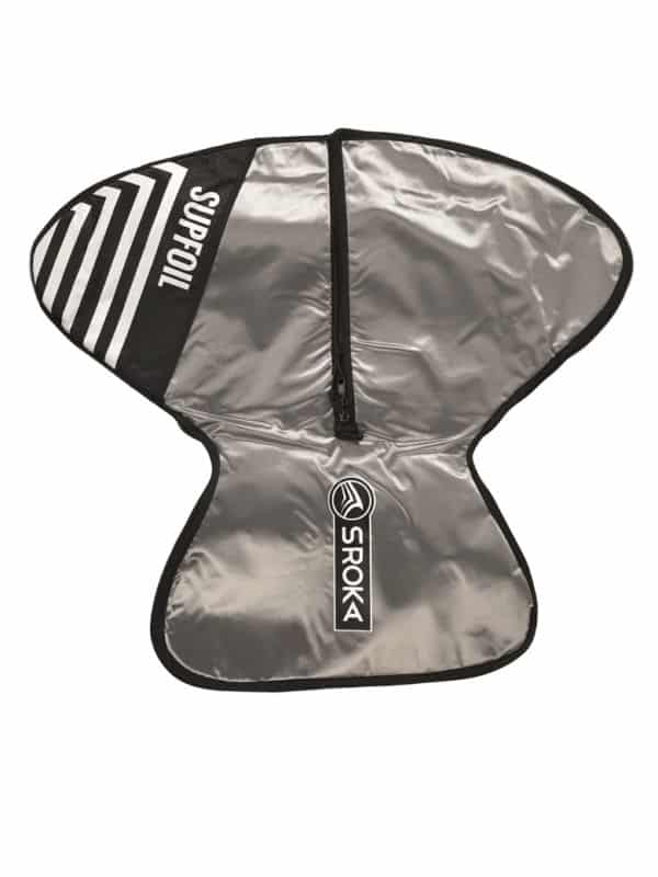 Surf foil and SUP foil protection bag for assembled foil top
