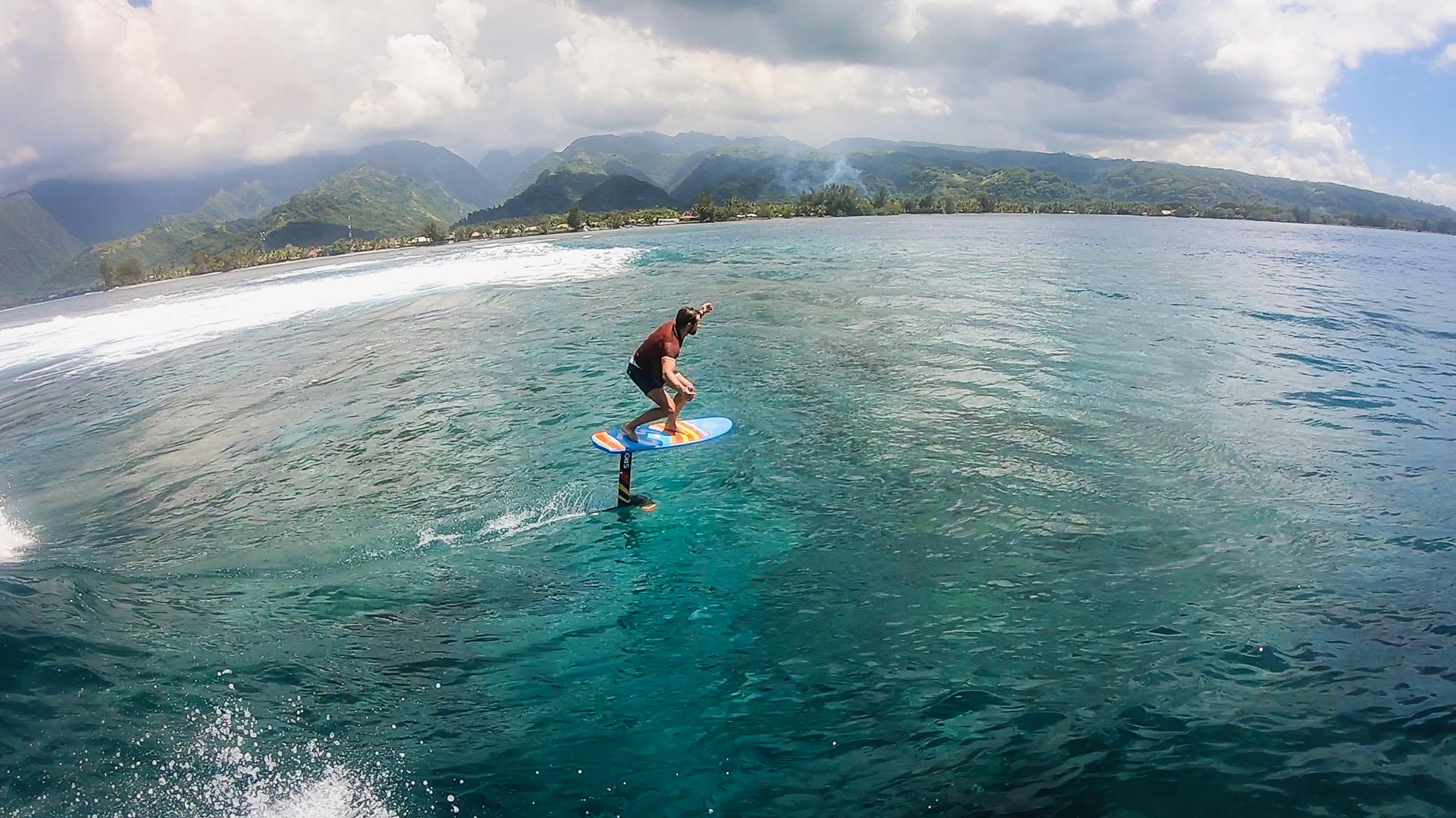 Surf foil carbone + board 160X52 SROKA