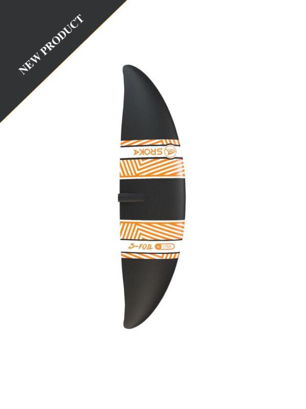 Ailette avant XL 1750 cm2 - Surf foil - sup foil - wakefoil - wingfoil - aluminium 2019 - SROKA Company