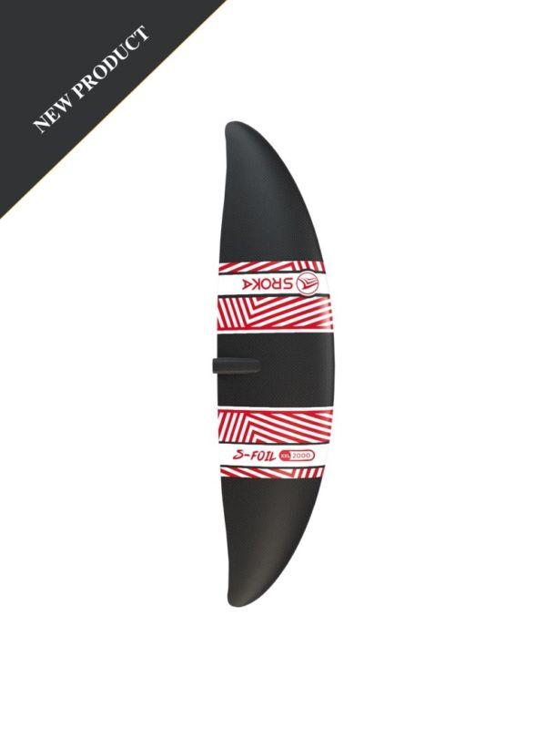 Ailette avant XXL 2000 cm2 - Surf foil - sup foil - wakefoil - wingfoil - aluminium 2019 - SROKA Company