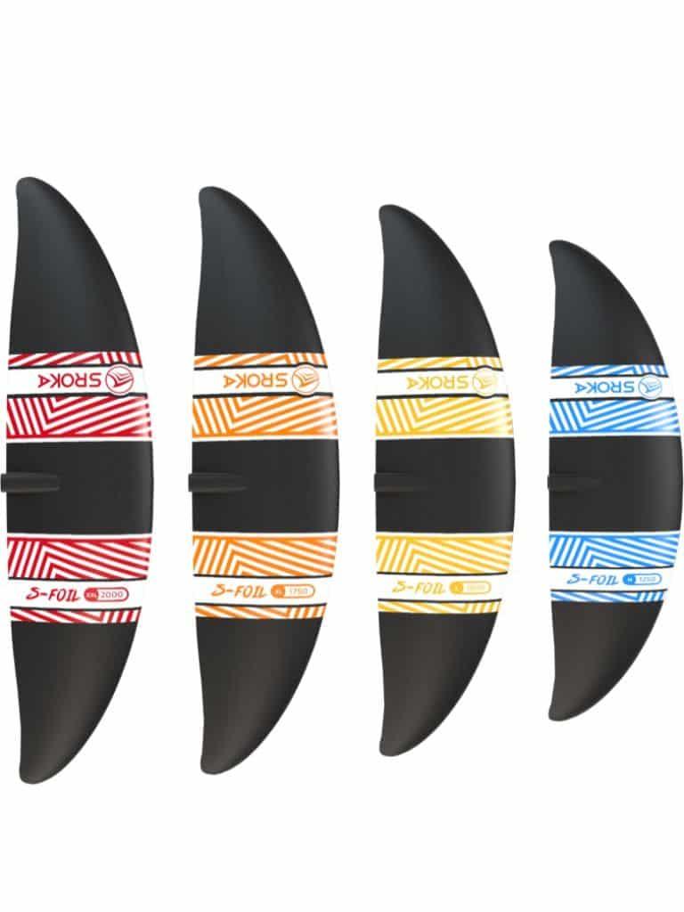 Ailette avant M-L-XL-XXL - Surf foil - sup foil - wakefoil - wingfoil - aluminium 2019 - SROKA Company