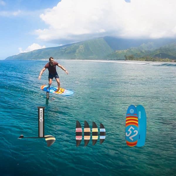 Surf foil + ailettes 2019