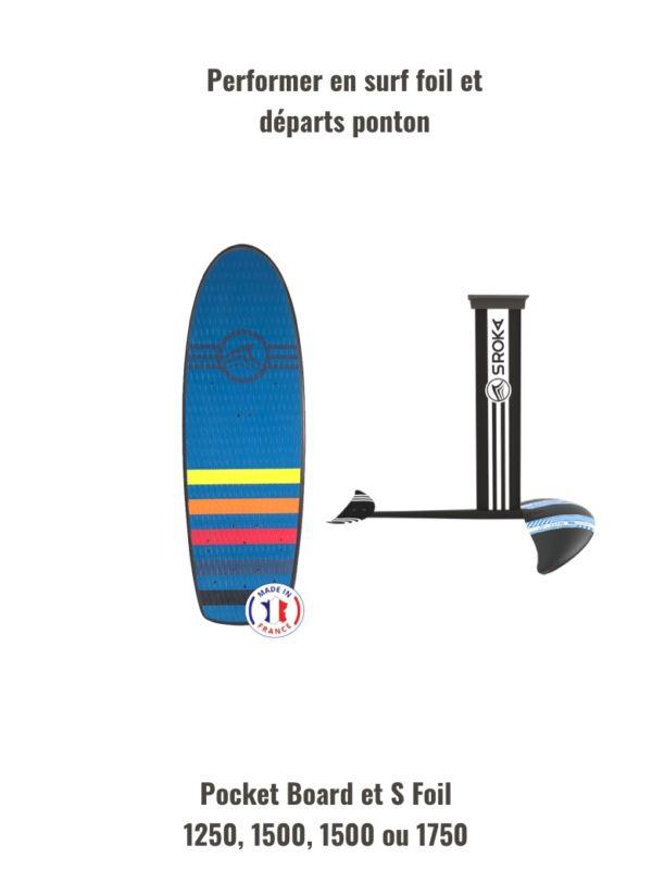 pack surf foil carbone aluminium