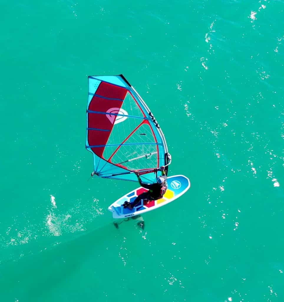 Windfoil convertible supfoil: skyrider 7'8