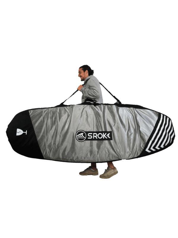housse pour stand up paddle foil supfoil - haut de gamme - boardbag - Sroka - bandoulière - shoulder strap