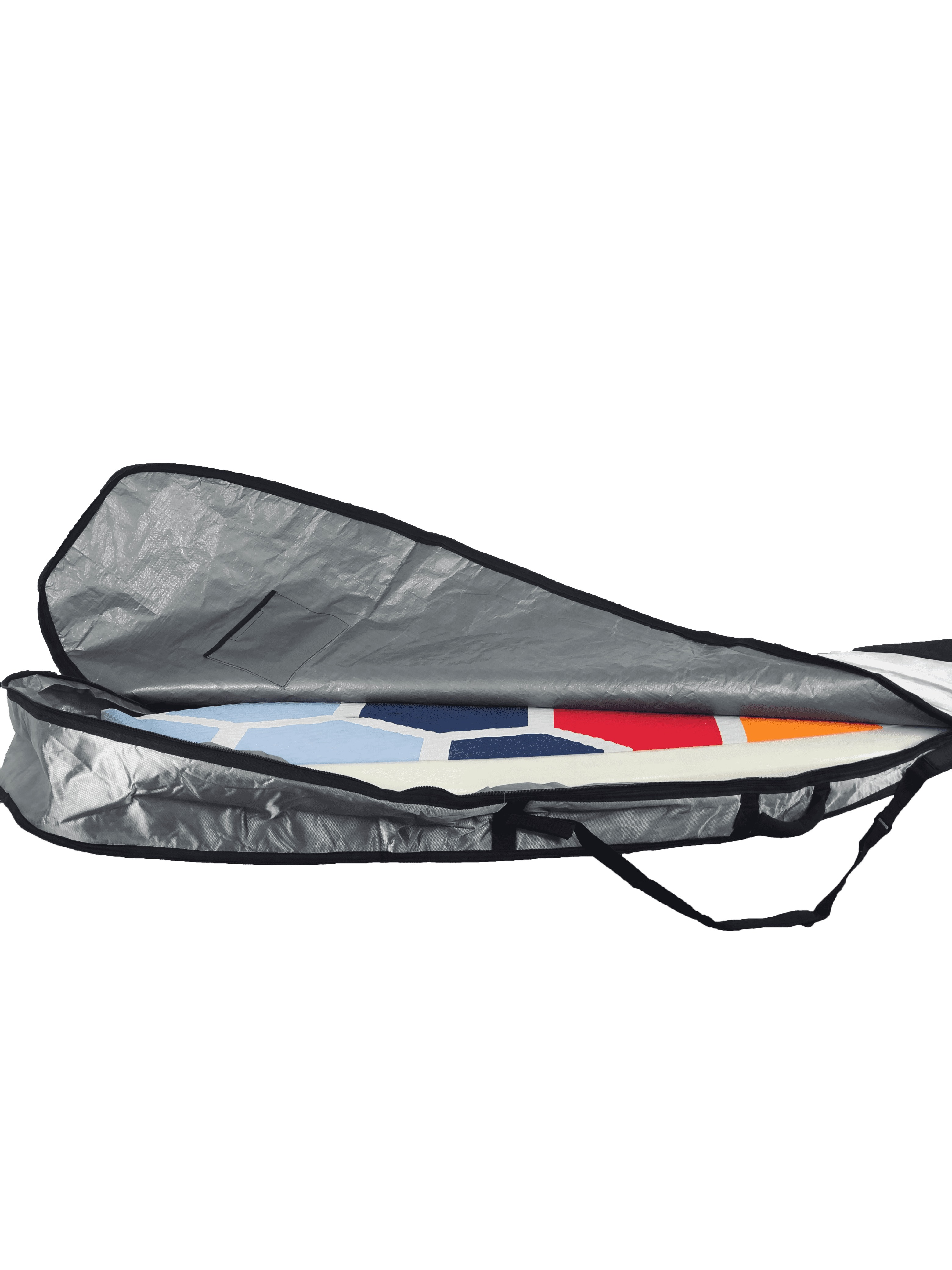 housse pour stand up paddle foil supfoil - haut de gamme - boardbag - Sroka - opening - zip