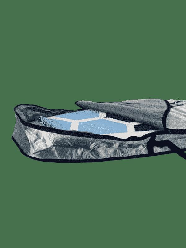 housse pour stand up paddle foil supfoil - haut de gamme - boardbag - Sroka - ouverture