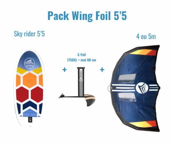 Pack Wing Foil 5'5 SROKA