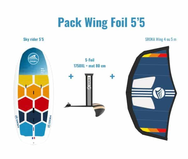 Pack WingFoil 5'5 SROKA