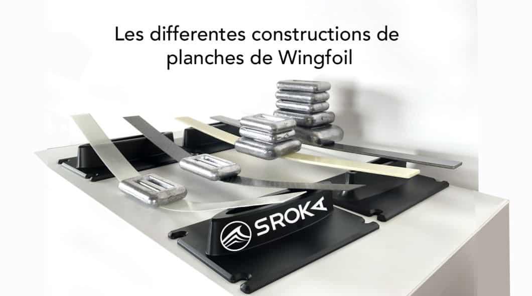 Comment sont construites les planches de Wingfoil