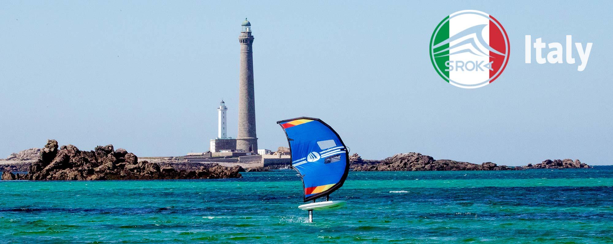 Kaufen Sie ein Wing Foil in Italien, ein Surf Foil, ein SUP Foil, ein Kite Foil, ein Wind Foil oder ein Stand-Up Paddle.