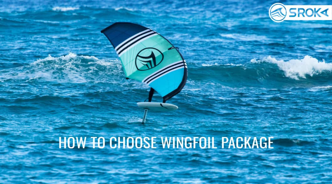 Guide and tuto on how to choose a wing foil full package