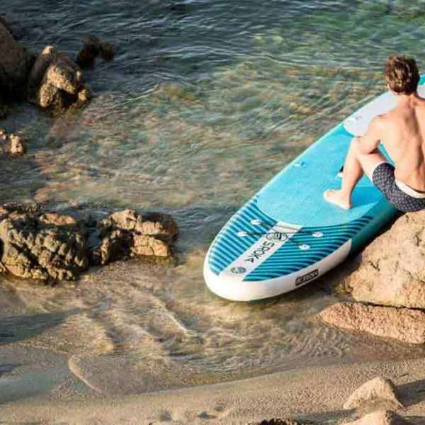 Stand up paddle gonflable Sroka EASY - sup corse