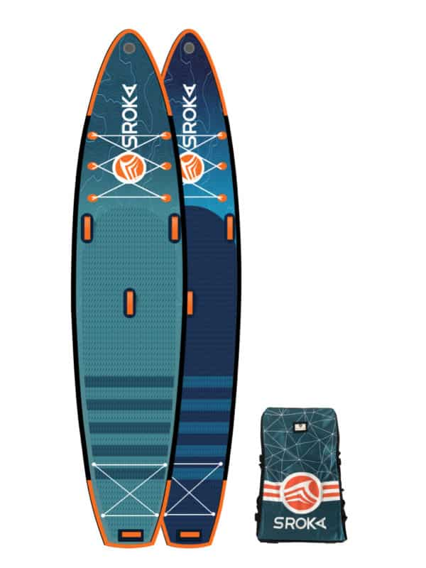 SUP stand up paddle inflatable race Alpha 12'6
