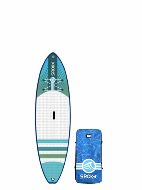 stand up paddle gonflable pour surfer. Idéal pour les vagues et la balade.
