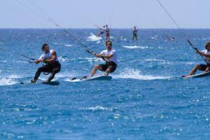 Compétition de Kite Surf