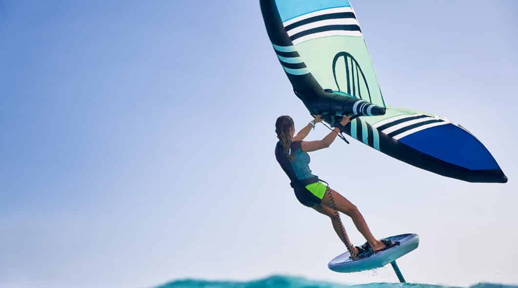 how to start wing foiling