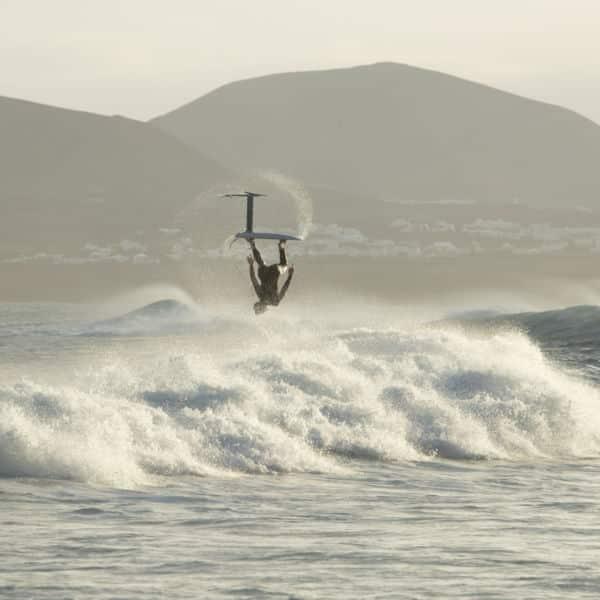 manoeuvres en surf foil