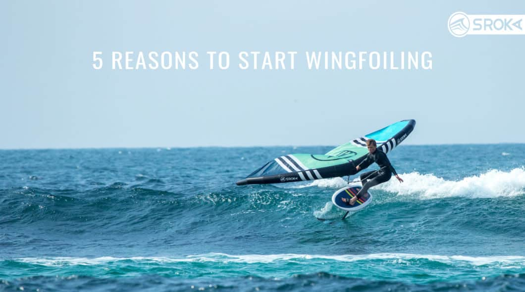 reasons to practice wingfoiling