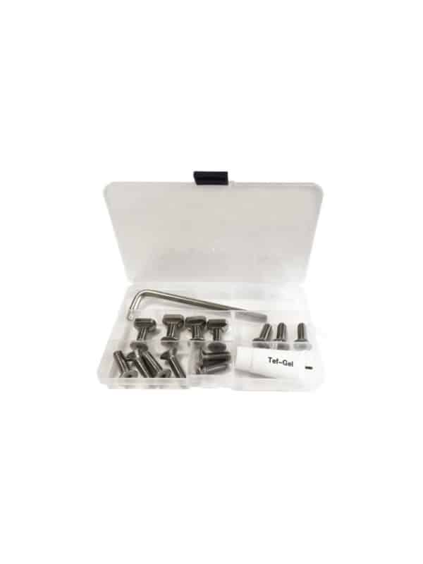 complete screw set for the Sroka Company foil model 2021