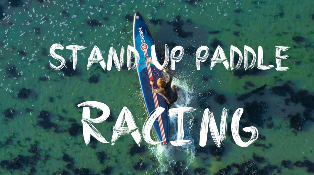stand up paddle gonflable haut de gamme - racing - alpha - sroka